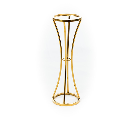 Modern Circular Metal Stand – 2ft